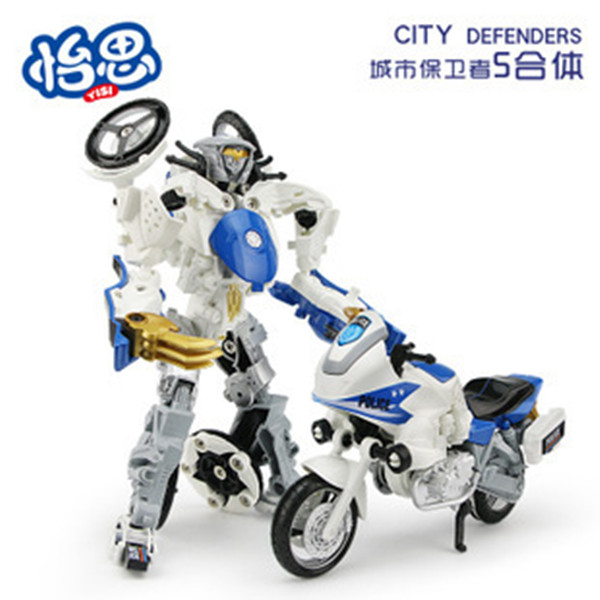 Alloy deformation,Robot deformation of motorcycles ,  toys