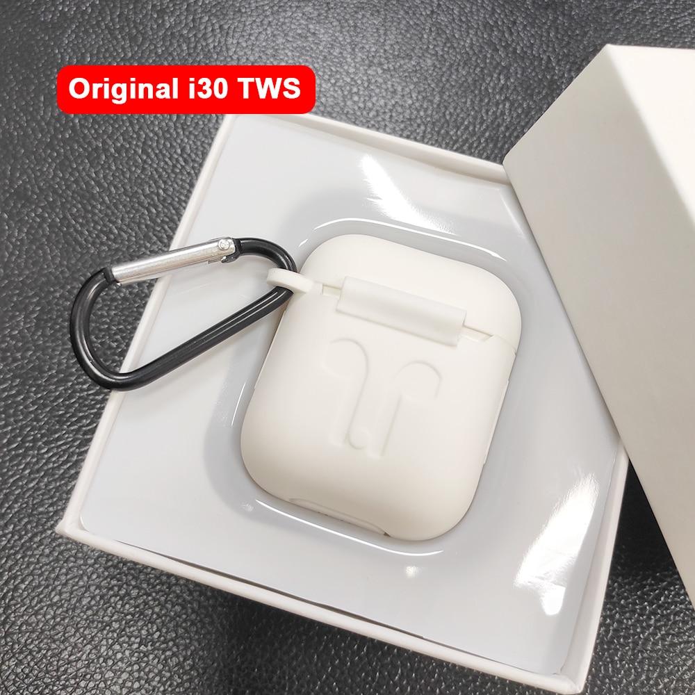 I30 TWS Pop up 1:1 Réplica uso Separado i30TWS 6D Super Bass Bluetooth 5.0 Fones De Ouvido fone de Ouvido Sem Fio Fones de Ouvido PK i20 i10 i12