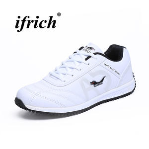 watch cd0e1 34ce3 Mens Sports Shoes 2018 Spring Autumn Mens Trainers Pu Leather Comfortable Men  Athletic