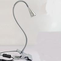 A1 Universele LED kleine bureaulamp kan buigen slaapzaal werk clip lamp oogbescherming bureaulamp bedlampje SD107