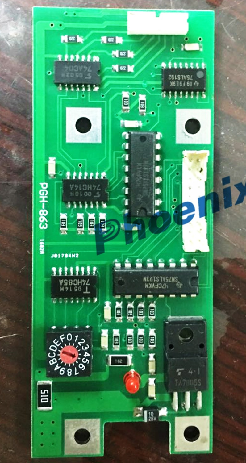 US $250 0 |KOMORI PCH 863 key control electric card L526 L528 many model-in  Electronics Stocks from Electronic Components & Supplies on Aliexpress com