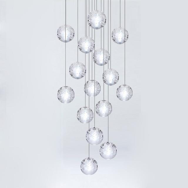 Postmodern Rainfall LED Pendant Lights