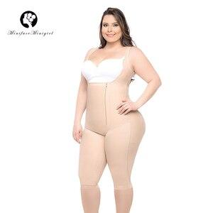 Image 1 - Kadın bel eğitmen zayıflama vücut şekillendirici Feminino Bodysuits modelleme kayışı firma Shapewear Bodysuit 6XL artı boyutu