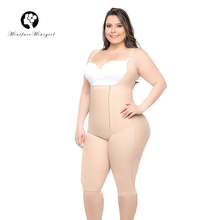 נשים מותניים מאמן הרזיה גוף Shaper Feminino Bodysuits דוגמנות משרד רצועת Shapewear בגד גוף 6XL בתוספת גודל