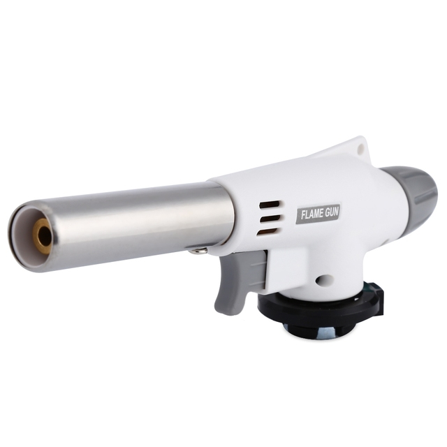 Automatic Electronic Lighter Flame Gun Burners Adapter