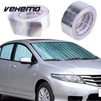 Car Motorcycle Aluminum Foil Heat Shield Tape Adhesive Heat Exhaust Wrap Pipe Ducts Repairs Tape High