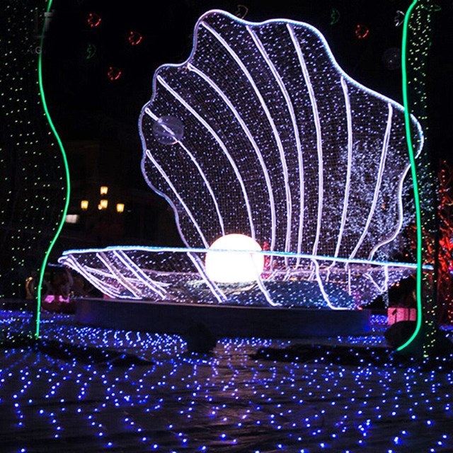 4.5M 50 Led Solar Powered LED String Fairy Lights Strip Lamp For Outdoor Garden Party Christmas Holiday Decoration Lighting