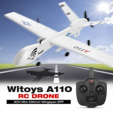 2.4G 565mm 3CH RC Airplane Hand Throwing Fixed Wing Plane Aircraft Outdoor Toys Original WLtoys XK A110