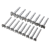 16Pcs Set Forstner Auger Drill Bit Set Woodworking Hole Saw Hole Cutter Set For Woodworking Tool