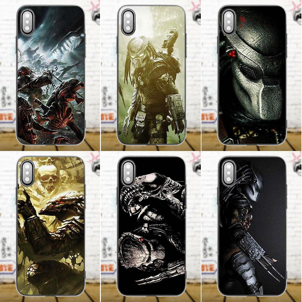 Alien Vs Predator For Galaxy A3 A5 A7 J1 J3 J5 J7 S5 S6 S7 S8 S9 edge Plus 2016 2017 Soft Silicone TPU Transparent Original ...