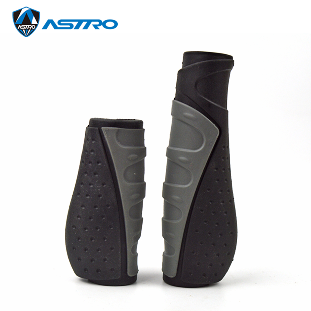 ASTRO Bike Handlebar Grips130mm & 90mm Handle Bar Rubber End Grip  For Multi-Speed Bicycle Mountain BMX Floding