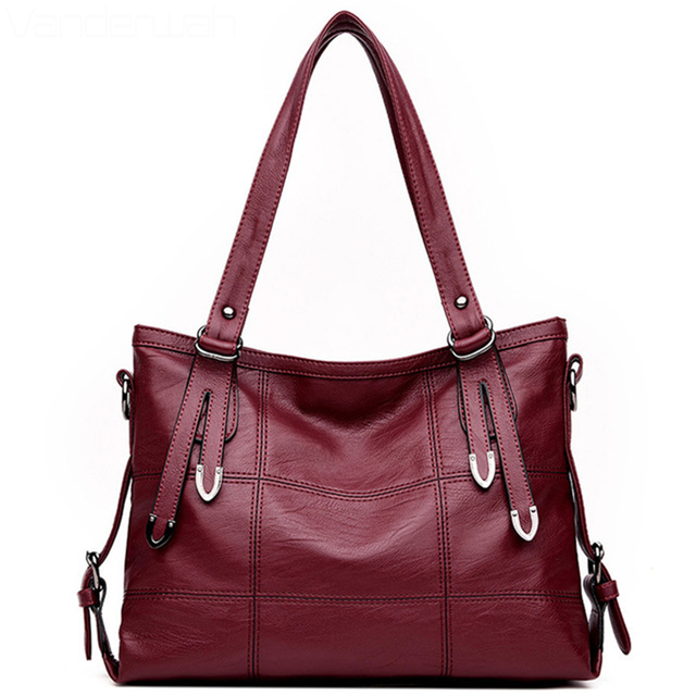 Hot 10 Colors Luxury Handbags Women Bags Designer Top Handle For 2018 Casual