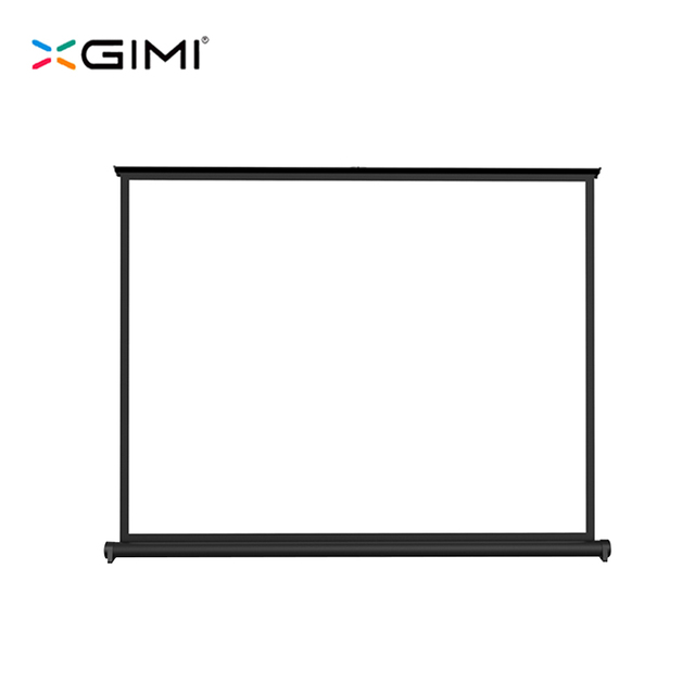 XGIMI Projector Accessories 50inch Screen 16:9 White Screen Folded Front Projection Screelastic Portable Desktop Curtains Screen
