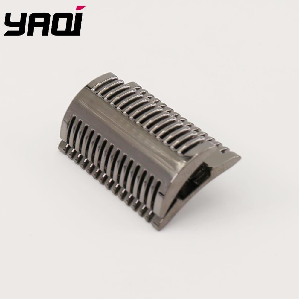 Yaqi Gunmetal Mellon Safety Razor Head  For Shaving Razors