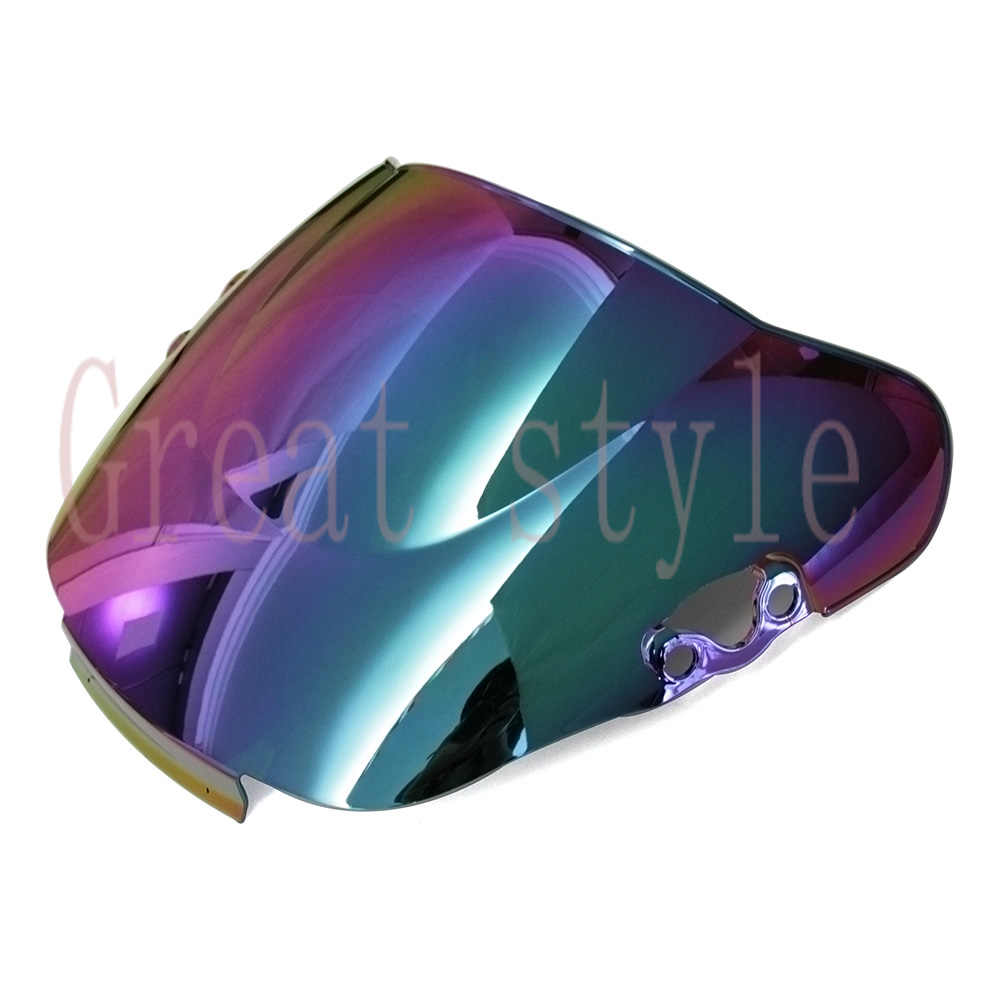 New bike motorcycle motorbike Windshield Windscreen Multicolor For Honda CBR600F2 CBR 600 F2 1991 1992 1993 1994 91 92 93 94
