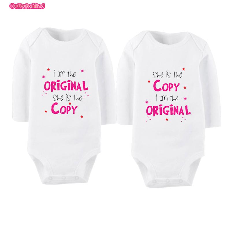 culbutomind manga larga moda gemelos gemelos del beb juegos de ropa infantil ropa para bebs bebe