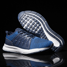 Tenis Masculino Adulto Breathable Sneakers Men Comfortable Non-slip Trainers Lace-up Casual Buty Sportowe Meskie недорого