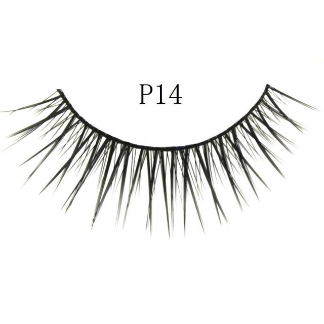 Free shipping,32box/lot [mixed style] high quality factory direct marketing,hand made (10 pairs/box)quality eyelashes (P14)