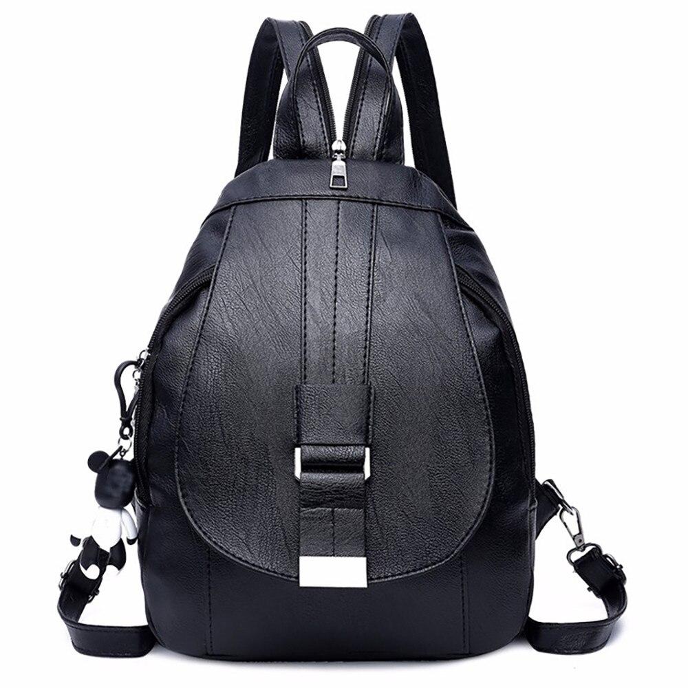 LiebenswüRdig Ocardian Rucksack Multi-zweck Dual-use-schulter Tasche Für Weibliche Weiche Leder Mutter Tasche Frauen Einfache Soild Schulter Taschen 12dec3 Zu Verkaufen Gepäck & Taschen