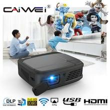 Smart DLP Projector Wifi 3D Projector 3300 Lumens 1080P Full
