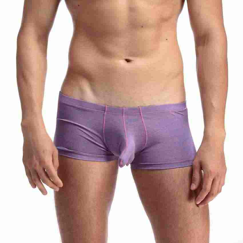 a225ef7a0c75 Detail Feedback Questions about LowRise Men's Sexy Cozy Cottom silky Bikini  with Penis Sleeve Comfortable Men Underwear Men Sheath Underwear Mens Penis  ...