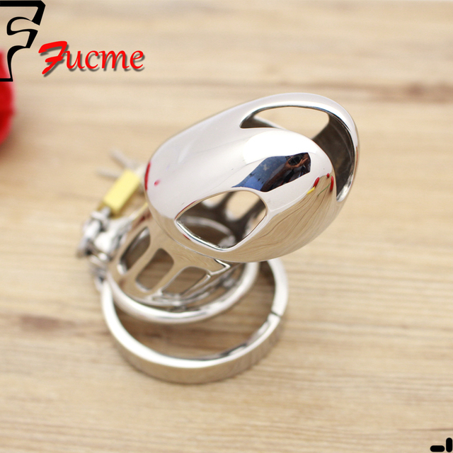 2015 Real Sex Toys Professional Design Stainless Steel Metal Chastity Belt Device Cb30006000 Adult Products with Anti-off Ring