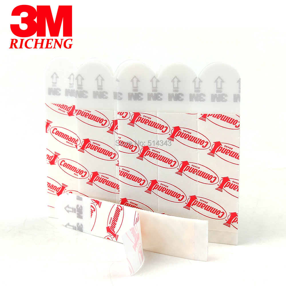 36pcs Medium 3M Command Assorted Mounting Refill Strips Command Adhesive Poster Strips Command Replacement Strips image