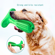Bite-Resistant Rubber Dog Toothbrush Chew Toys Pet Molar Tooth Cleaner Brushing Stick for Puppy Dental Care  Cat Supply