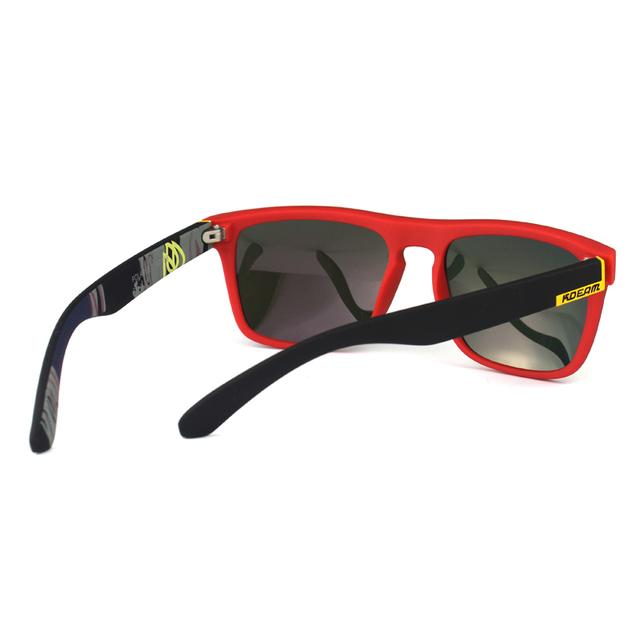 Fashion Guy's Sun Glasses From Kdeam Polarized Sunglasses Men Classic Design All-Fit Mirror Sunglass