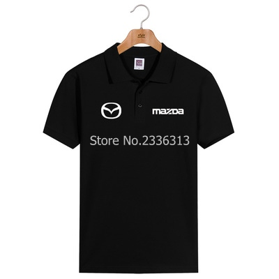 Back To Search Resultsmen's Clothing T-shirts Men And Women Tooling 4s Shop Uniforms Short-sleeved Mazda T-shirt Custom Cotton Car Standard T Shirt