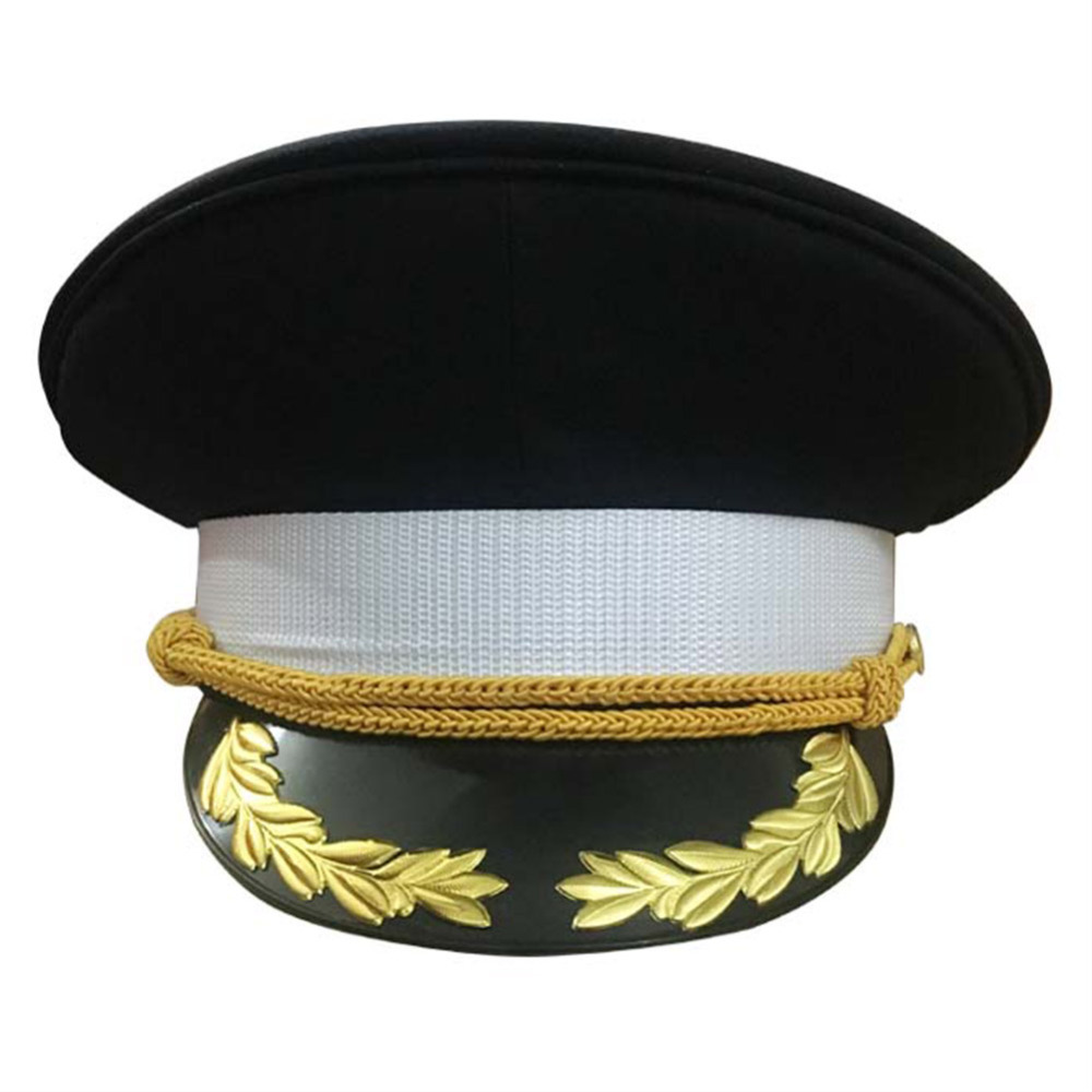 Gorras militares sombreros hombres tapas de uniforme oficial de la Marina  Caps adultos niños blanco rendimiento 78b44e2907e