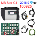 Newest Full Chip V2016.9 MB Star C4 Sd Connect for Benz car & truck Auto Diagnostic-tool (12V+24V) with WIFI SD Diagnosis No HDD