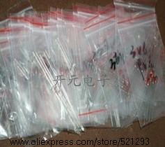 Free shipping 1W Zener diode 3 3V 30V 14valuesX10pcs 140pcs font b Electronic b font font