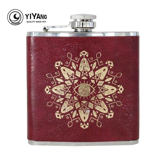 6oz stainless steel hip flask whiskey for alcohol liquor honest drink bottle
