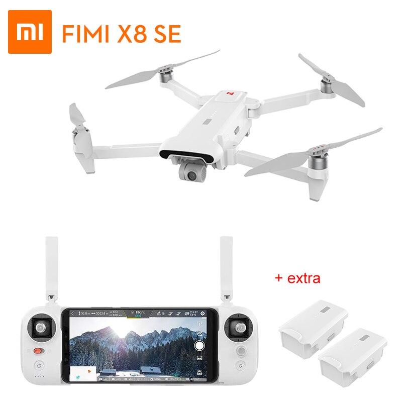 Xiao mi FI mi X8 SE RC Drone con 4 K HD Macchina Fotografica Extra Batterie 5 KM FPV 3- assi del Giunto Cardanico GPS Quadcopter 33 mi ns di Volo RTFXiao mi FI mi X8 SE RC Drone con 4 K HD Macchina Fotografica Extra Batterie 5 KM FPV 3- assi del Giunto Cardanico GPS Quadcopter 33 mi ns di Volo RTF