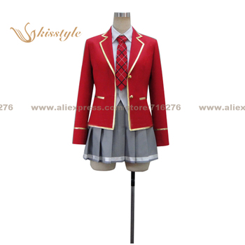 Kisstyle Fashion Noucome Oka Yuoji Uniform COS Clothing Cosplay Costume,Customized Accepted image