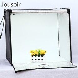 Portable Photo Studio LED Light Tent Table Top Lightbox Softbox Shooting Kit for Photography Studio 60cm*60cm CD15