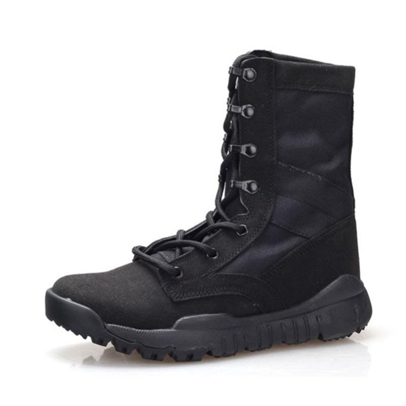Especial Dos Ww Preto Força Deserto Botas sand Militares Masorini 2 Sapatos Impermeáveis Ankle Militar black Homens 663 Boots De Combate Tático xn4gEYZT