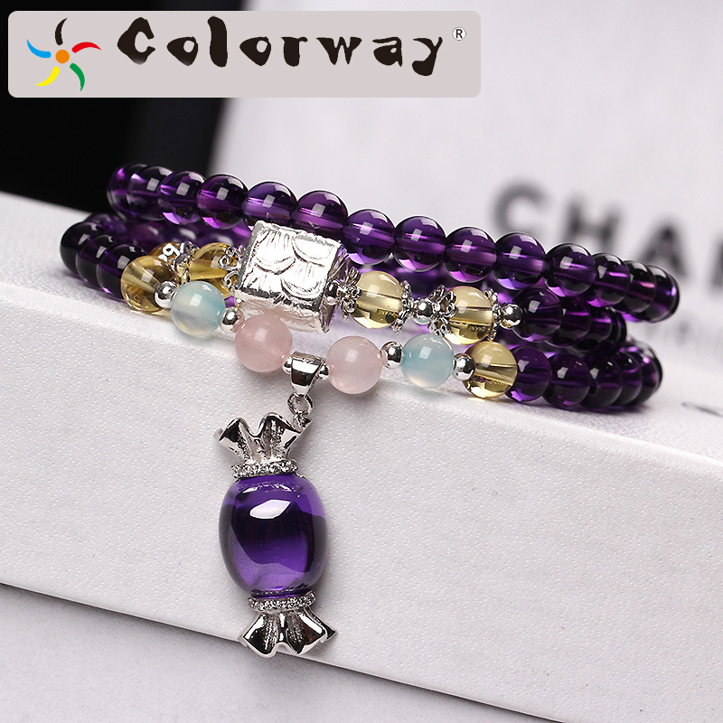 Colorway bracelet on the arm 925 silver bracelets costume jewelry Christmas gift bijouterie bracelets wristband soy luna bts