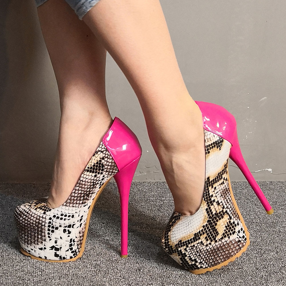 SARAIRIS Luxury Snake Print Women Shoes Big Size 35-47 Sexy Fashion Party Super High Heels Pumps Shoes WomanSARAIRIS Luxury Snake Print Women Shoes Big Size 35-47 Sexy Fashion Party Super High Heels Pumps Shoes Woman