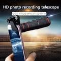 20X Zoom Teleobjektiv HD Monokulare Teleskop Telefon Kamera Objektiv Für iPhone X Xs XR Samsung Universal Clip Telefon Kamera objektiv-in Handy-Objektive aus Handys & Telekommunikation bei