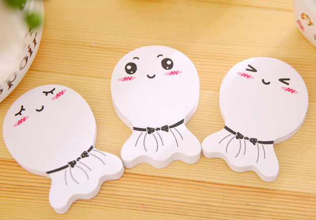 1pcs Novelty Kawaii sunny doll sticky notes Memo Pad Paper Sticker Post It Notepad Gift Stationery Escolar Papelaria