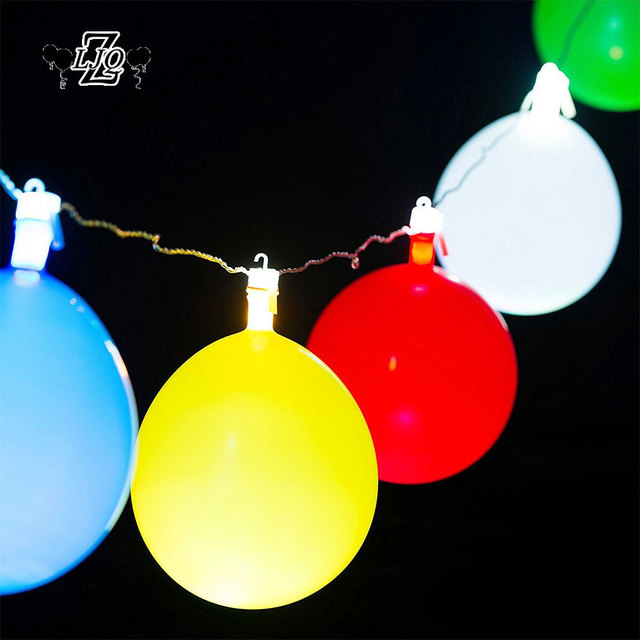 up with lighted light pack led balloons glow balloon white lights pink