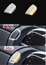 Angelguoguo Car armrest box switch button Cover sticker For Mercedes Benz E  Class W213 460de73eba33