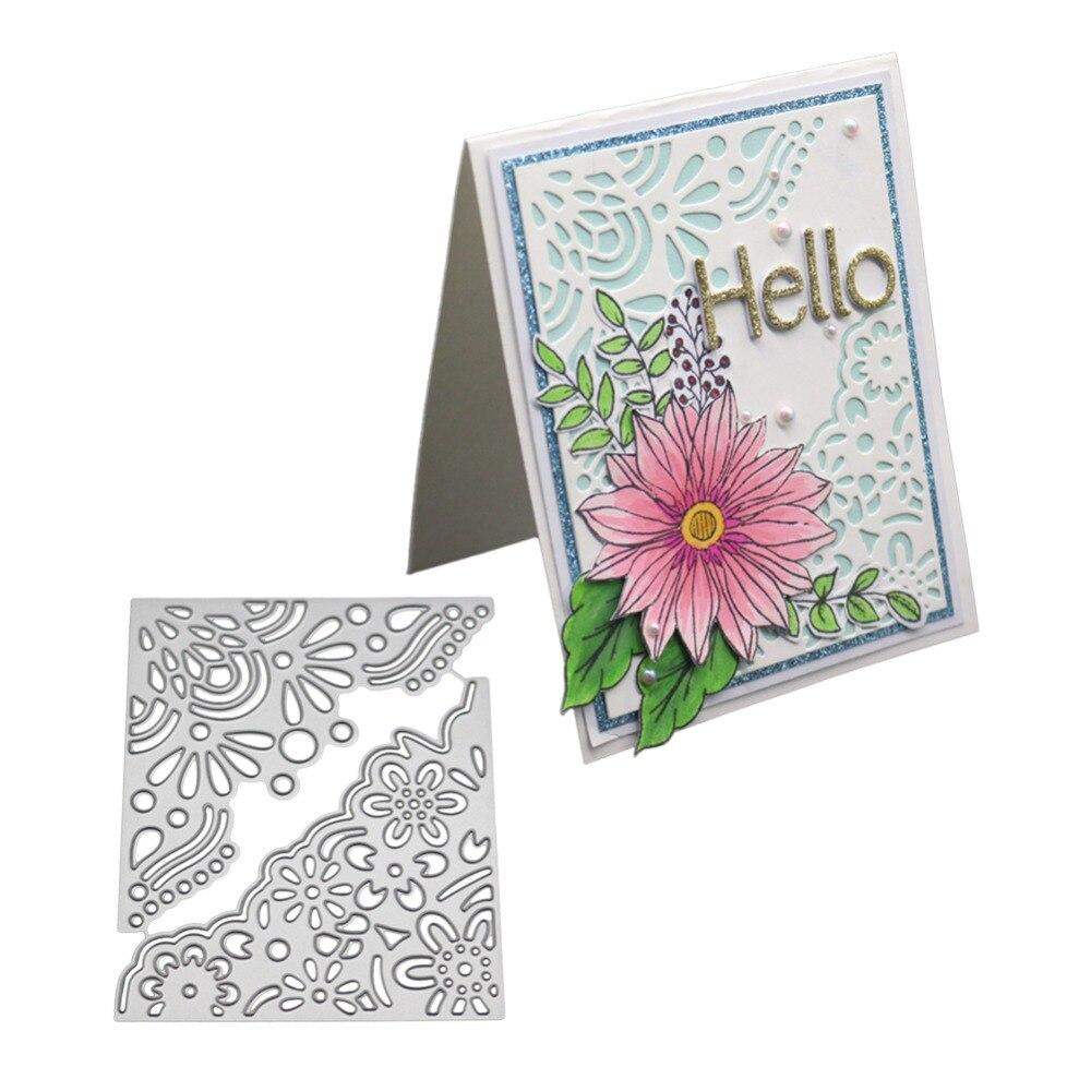 Flower Frame New Design Metal Cutting Dies Stencils For