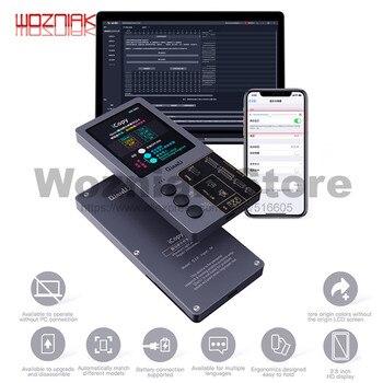 QIANLI iCopy Più Schermo LCD Fotometro Per iphone 7 8 8P X XR XS Max Fotosensibile Colore Originale di Riparazione Della Batteria programmatore