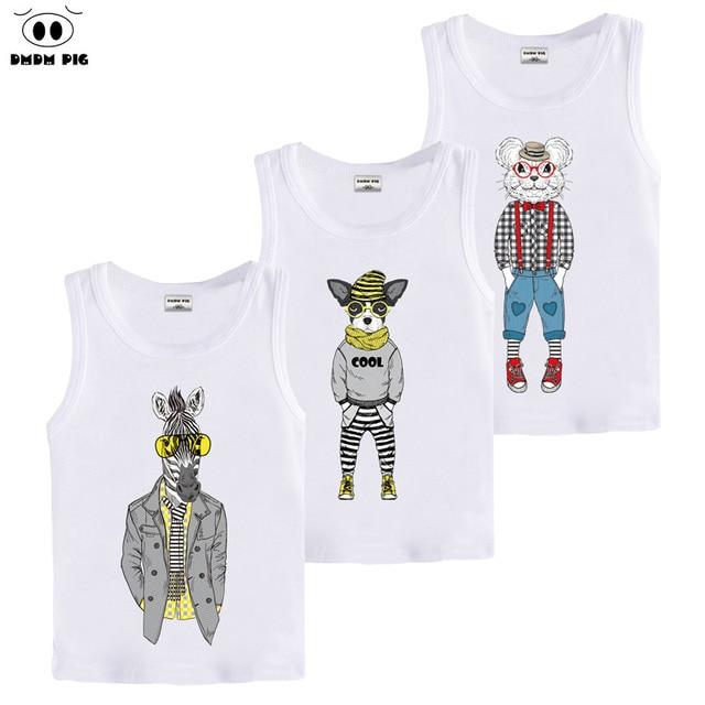 DMDM PIG Christmas TShirt Birthday Baby Girl Sleeveless T Shirts For Boys Toddler Girls Tops Size 3 4 5 6 7 8 9 10 Year