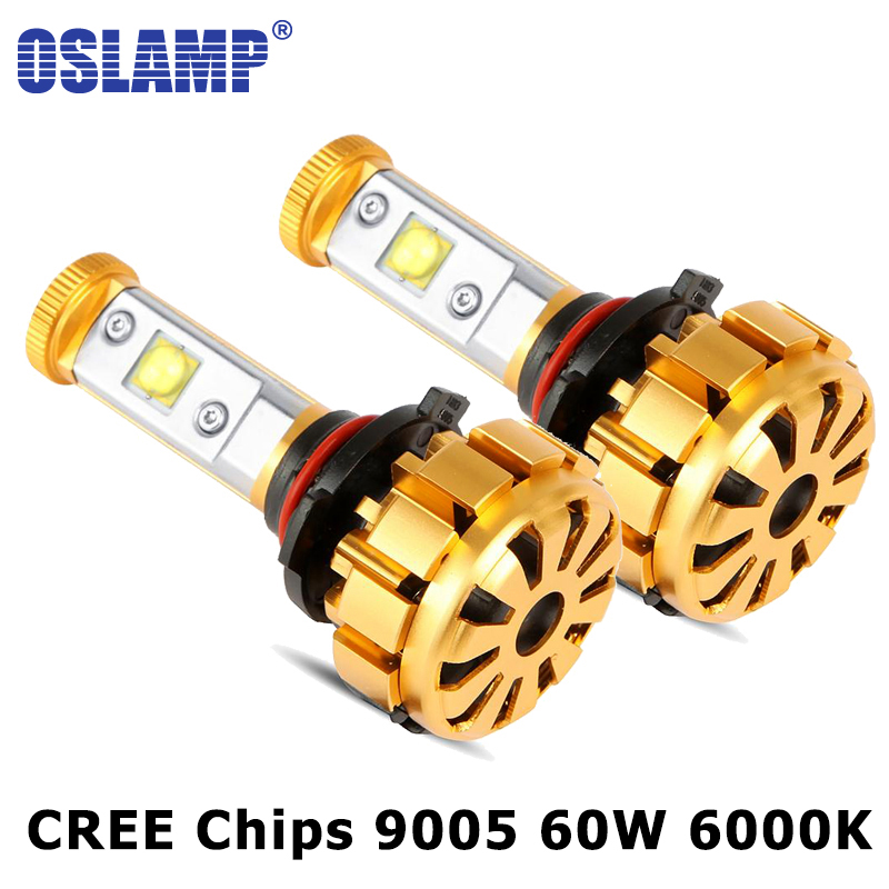 Oslamp 9005 LED Car Headlight 60W CREE Chips LED Headlights Bulb Auto Headlamp 9005 HB3 6000LM