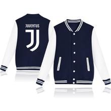 Juventus 2018 hit hop cotton Baseball jacket bomber jacket men women  Juventus tracksuit club Italy winter jacket coat