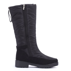 Image 3 - GOGC Winter Boots Women 2019 autumn winter woman High Boots Waterproof Brand Women Shoes Warmful Winter Shoes Women Flat 9893